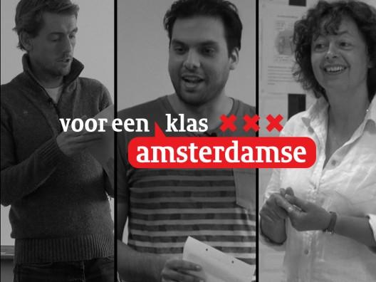 Voor een Amsterdamse klas