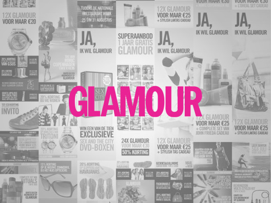 Glamour banners 2008-2010